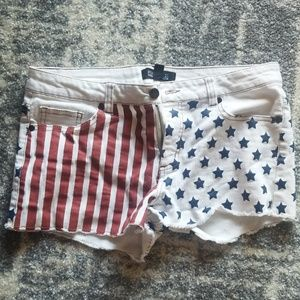 Forever 21 Stars and stripes shorts
